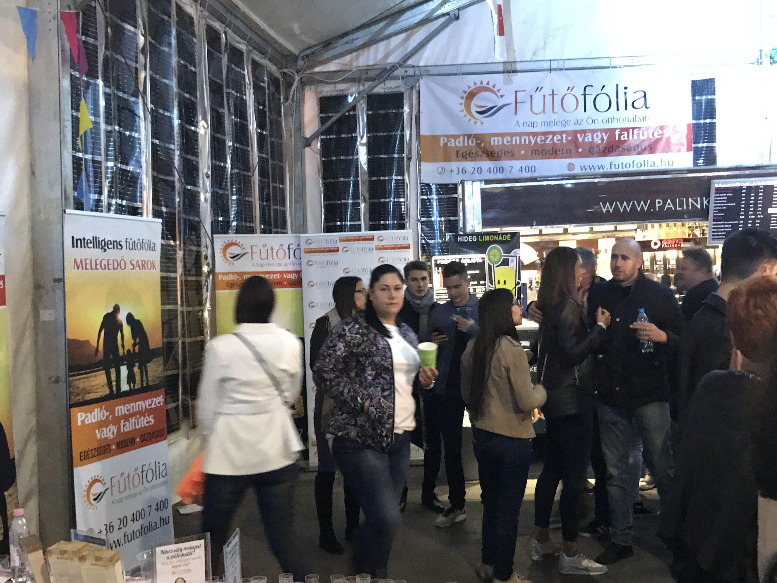 Intelligens fűtőfólia a Zamat fesztiválon