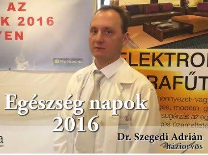 Dr Szegedi Adrián véleménye az infrafűtésről