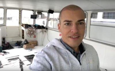 Hajó padlófűtés infra technológiával