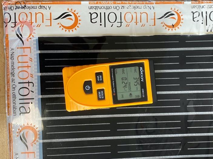 Brutális elektroszmog van az Intelligens Fűtőfólia esetében? Nem, sőt akár nulla is lehet…