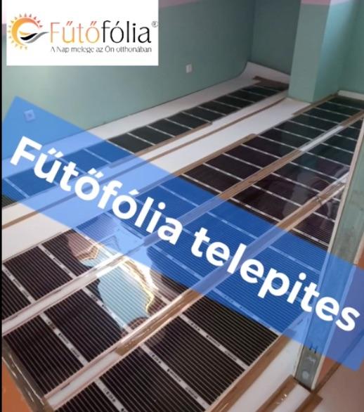 Elektromos fűtés telepítés padlóba – 140 m2