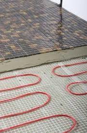 padlófűtés, A padlófűtés története
