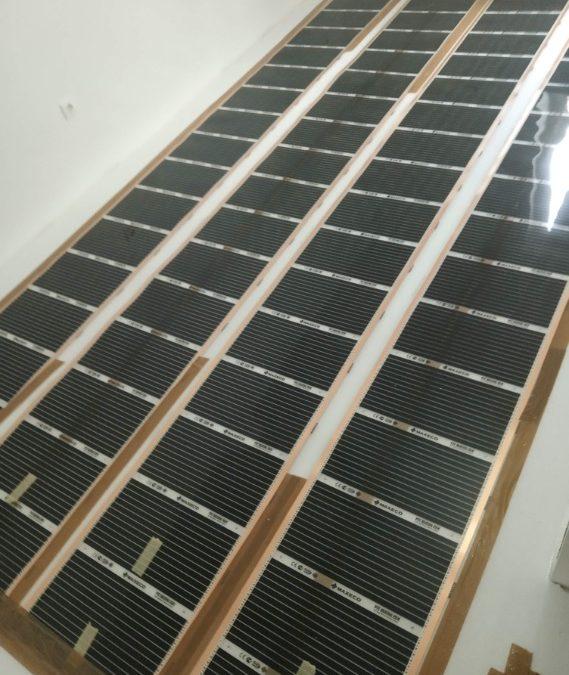 Fűtőfilm padlófűtés kivitelezés Szombathelyen