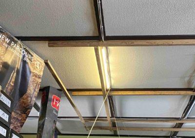, Vadászbolt infrafűtés mennyezetre