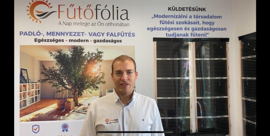 Új Fűtőfólia bemutató terem Budapesten, infrafűtés kipróbálási lehetőséggel
